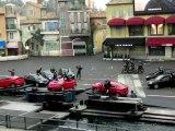 Disneyland Paris - Disney Studio - stunts, cascades (video3)