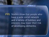 How To Prevent Yourself From Developing Dementia : How do I prevent myself from developing dementia?