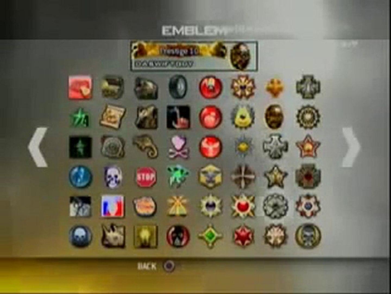 Mw2 Ps3 hack-glitch 10th prestiges unlock all titles ...
