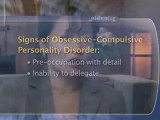 Obsessive-Compulsive Personality Disorder : What are the signs of obsessive-compulsive personality disorder?