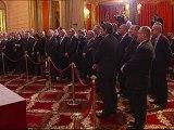 Voeux de Sarkozy aux partenaires sociaux