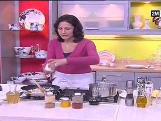 Recette de Filets de sole roulés aux champignons et la crème