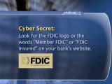 Computer Security: Personal Information & Passwords : Is it safe to manage my banking online?