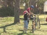 How To Help Your Child Stay Safe Whilst Riding A Bicycle : How can my child stay safe while riding a bicycle?