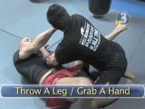 How To Do Bas Rutten's Armbar  Against An Opponent In Your Guard