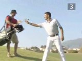 Golf: How To Hit From A Downhill Lie