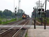 L383 TRAINS BNSF FOSTORIA OHIO DM
