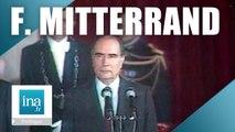 Edition spéciale : Décès de François Mitterrand 08/01/1996 | Archive INA
