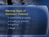 Warning Signs Of Violent Behavior : What are the signs that violence could be imminent?