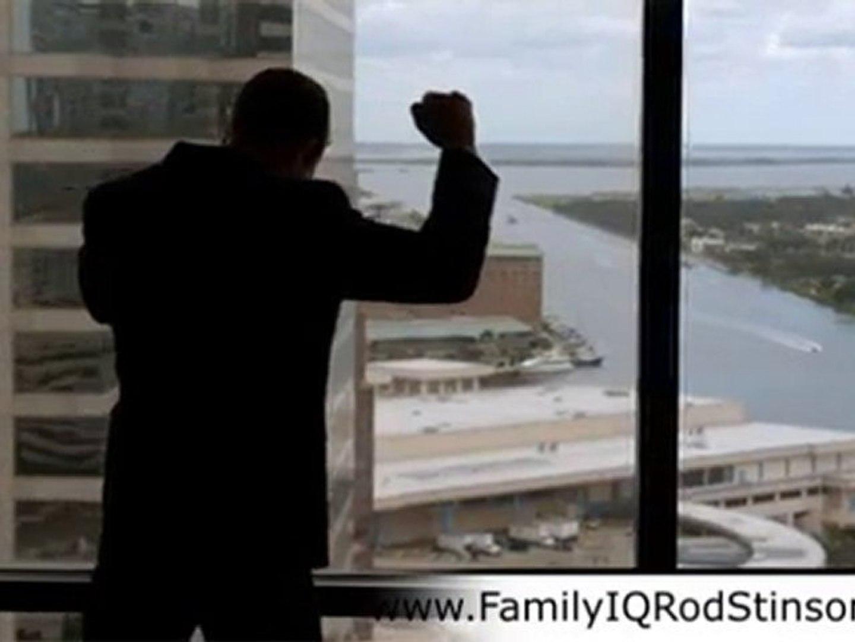 Family IQ Rod Stinson Video