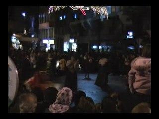 Cabalgata reyes Aviles - Malabares - Juggling  fire 2011