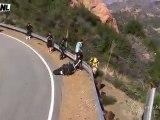 Crash moto : La barriere de sécurité ne passe pas loin