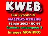 1 cam embarquée TT 1/8 éme Kyosho MP7