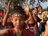 Danse des ethnies Ban None Champa LAOS