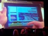 Asus présente sa tablette EEE Pad Slate au CES