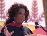 Oprah Winfrey 2008 Stanford Commencement Address - Part 1