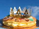A CAKE MADE FOR A KING * Three Kings Day Celebration Cake!