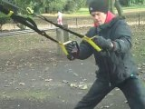 WORK OUT IN BATTERSEA PARK TRX personal trainer london