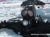 Ski et plongée sous glace à Tignes