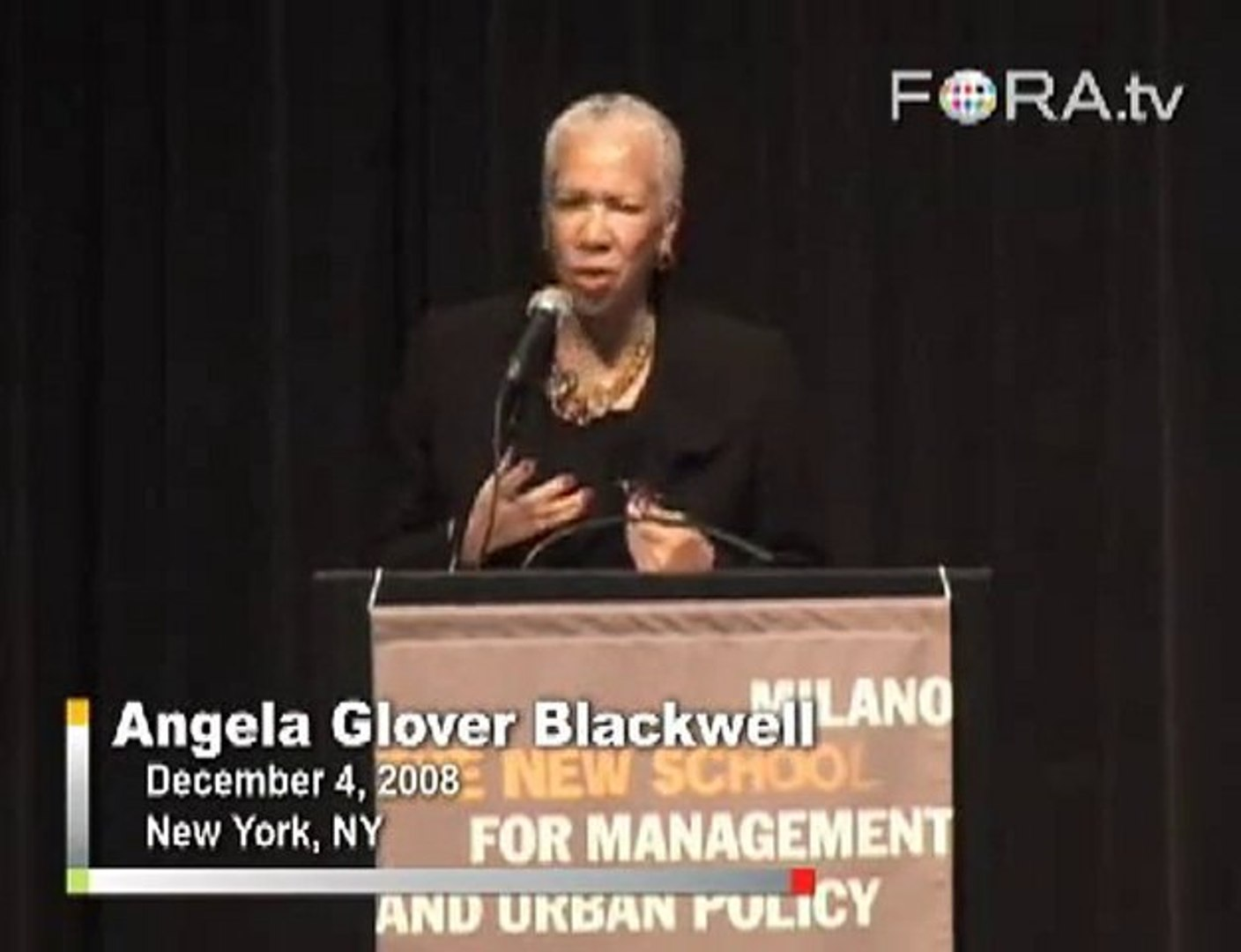 Angela Blackwell on Public Policy for the Most Vulnerable