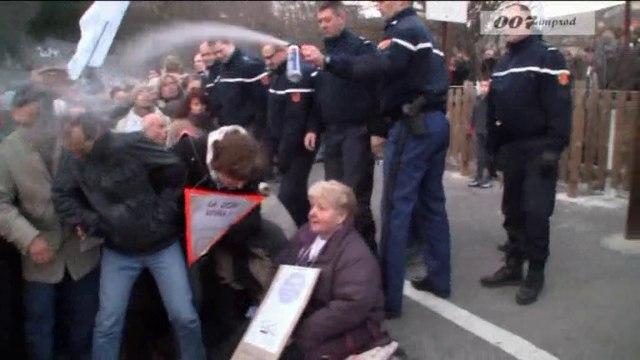 violences des forces de l'ordre gratuites