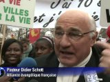 """""""Marche pour la vie"""" des anti-avortement à Paris"""