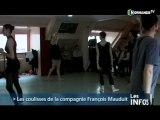 Les coulisses de la compagnie François Mauduit à Caen