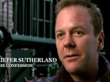 """Kiefer Sutherland interview """"The confession"""""""