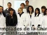 Olympiades de la Chimie - Sédiments en Seyne - Beaussier