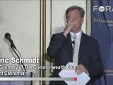 Eric Schmidt: Renewables are Cheaper, Not Nuclear