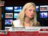 """Mathilde Florin, Miss France 2011 """"Comité Historique"""""""