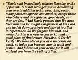 Prophets Stories-2 (Dawud-Hazqil-samuel) in Quran & Hadiths