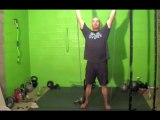 Resistance Band Training- Overhead Band Press