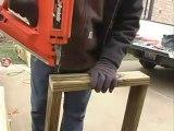 How to Build a Pergola - 5.Cutting Boards for Pergola Base