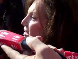Farid Smahi devant une Janie Le Pen en larmes