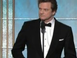 Colin Firth and Ricky Gervais shine at the Globes