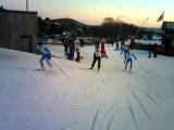 Course Ski de fond 50 ans Super Besse course des jeunes
