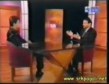 Shah Rukh Khan interview Star Talk -  pompous