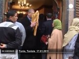 Tunisians go back to their every day life - no comment