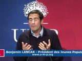 UMP:  Voeux de Benjamin Lancar aux Jeunes Populaires