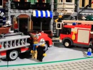 Un incendie à LEGO City