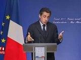 Lapsus: Nicolas Sarkozy rend l'Alsace à l'Allemagne