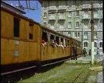 Tren cremallera de Luchon a Superbagneres años 60