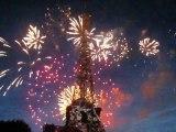 Feu d'artifice Tour Eiffel le 14 juillet 2009 Part 3