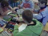 Dzień Górnika - zajęcia w świetlicy szkolnej