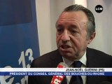 Cantonales : Jean-Noël Guérini est serein (Marseille)