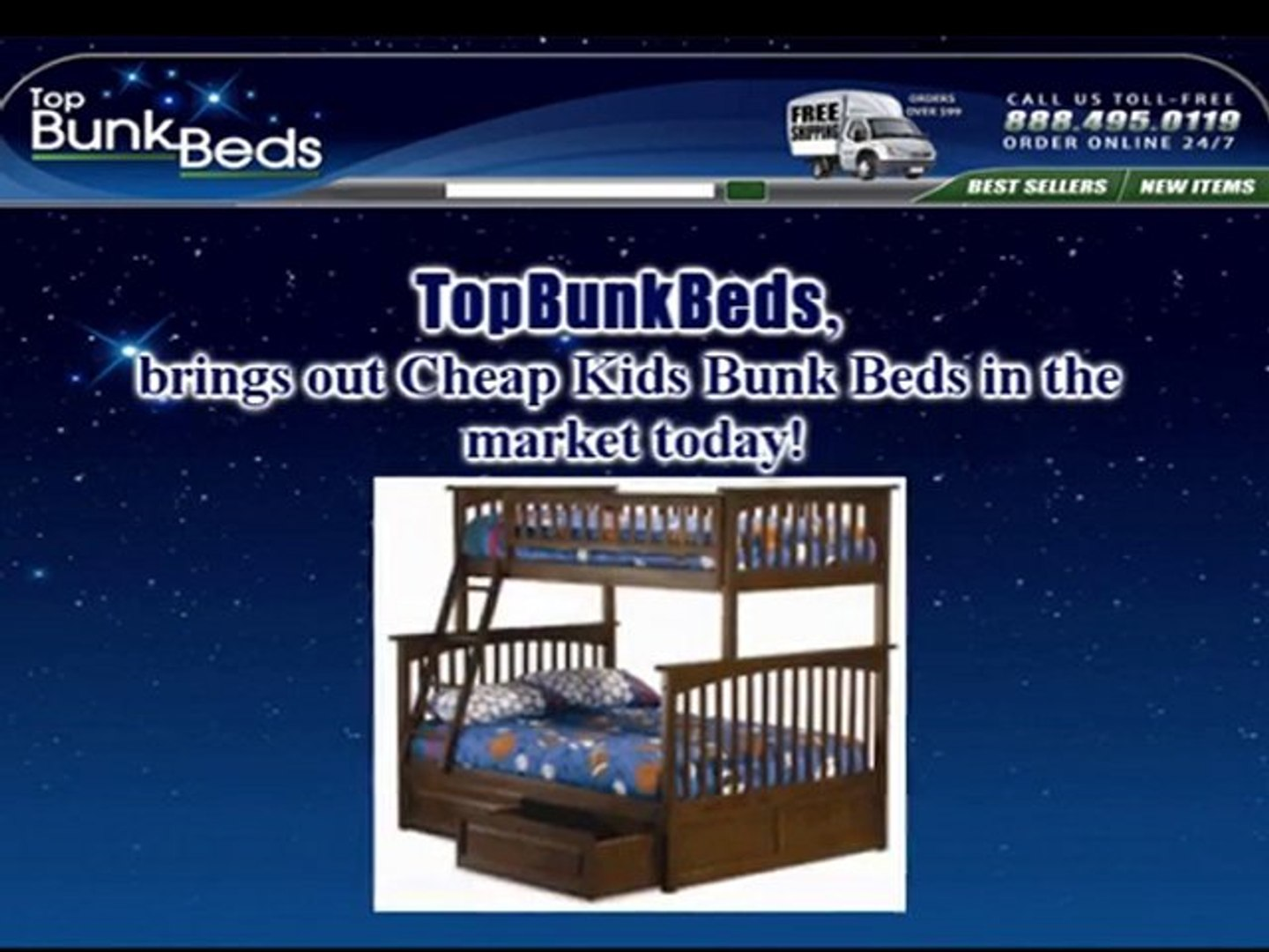 Picture of: Amazing Cheap Kids Bunk Beds Video Dailymotion