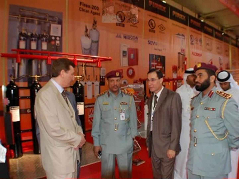 Instersec Dubai 2011 -Emirates Fire Fighting Equipment FIREX