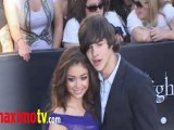 "SARAH HYLAND and MATT PROKOP at ""ECLIPSE"" Premiere Arrivals"