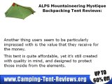 ALPS Mountaineering Mystique Backpacking Tent